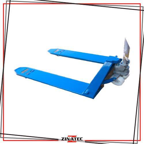 Transpalete hidráulico manual