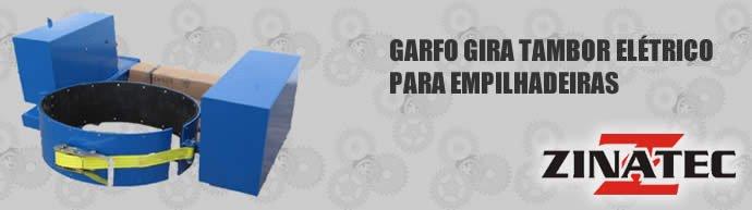 Garfo Gira Tambor